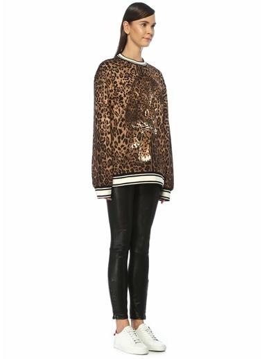 Dolce&Gabbana Sweatshirt Leopar